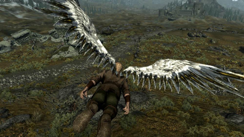 скачать моды на скайрим на превращение в ангела - фото 2