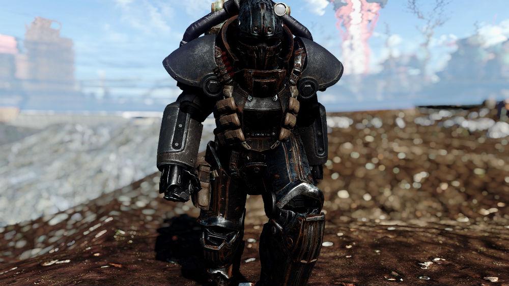 Скачать мод для fallout 4 на силовую броню