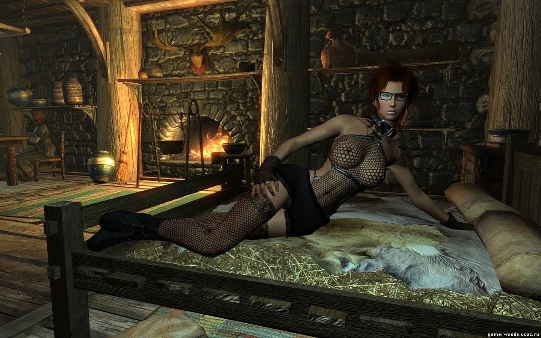 Скайрим моды на секс рабынь