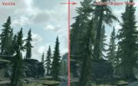 Скачать мод на высокие деревья