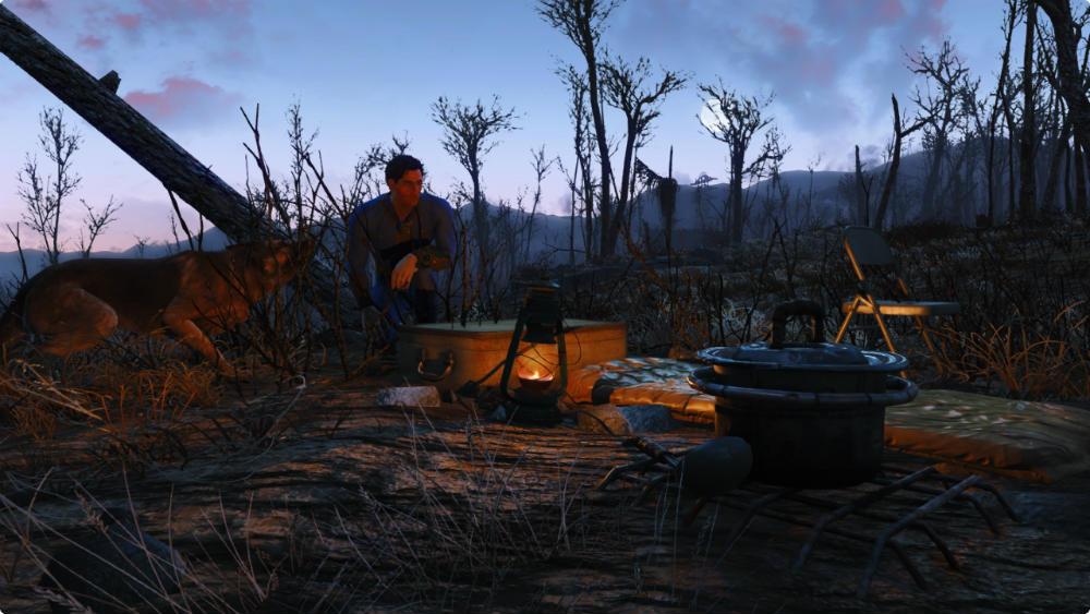 скачать мод на скайрим на свой лагерь - фото 11