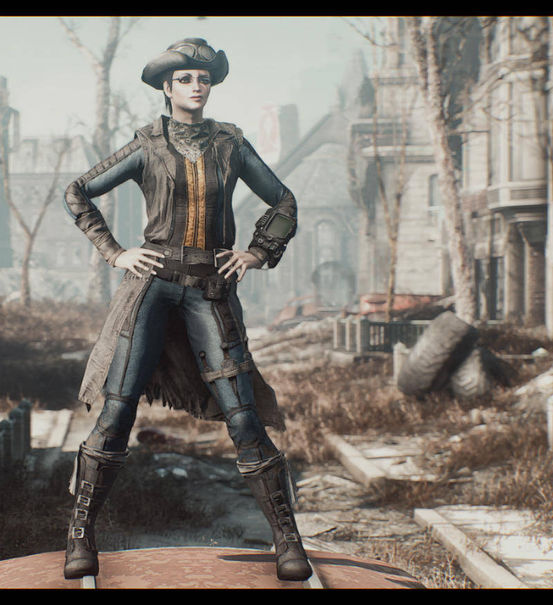 Fallout 4 Одежда Моды