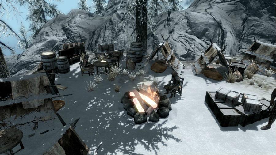 Бандитские лагеря / More Bandit Camps - Дома I Локации