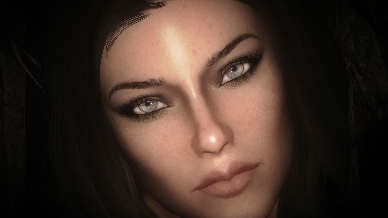 Женские брови / Maevan2's eye brows - Косметические моды - Skyrim LE