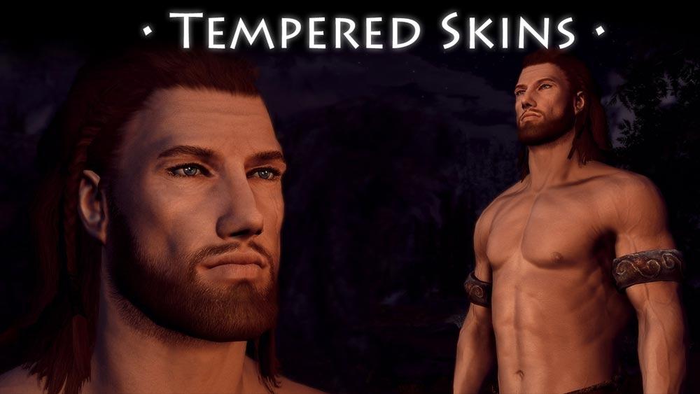 Ретекстур и реплейсер мужчин / Tempered Skins for Males - Тело/лицо