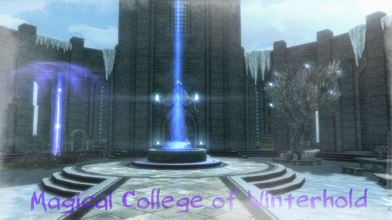 Расширение Коллегии Винтерхолда (SE) / Immersive College SE - Дома