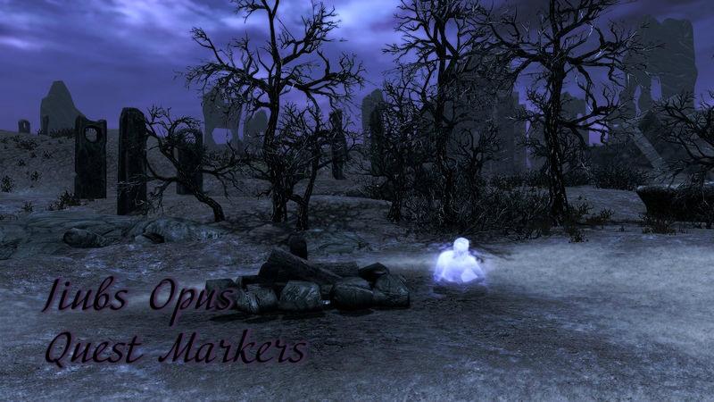 Квестовые маркеры для опуса Джиуба / Jiubs Opus Quest Marker