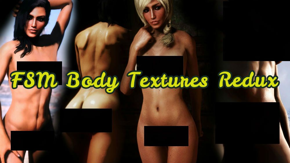 FSM Body Textures Redux - CBBE Textures and Presets