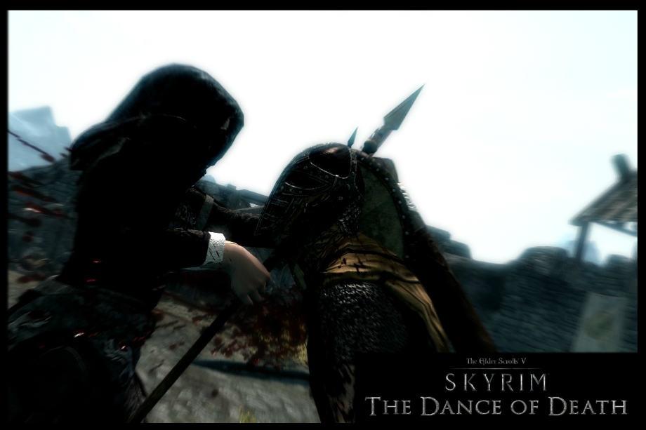 скачать мод на скайрим танец смерти
