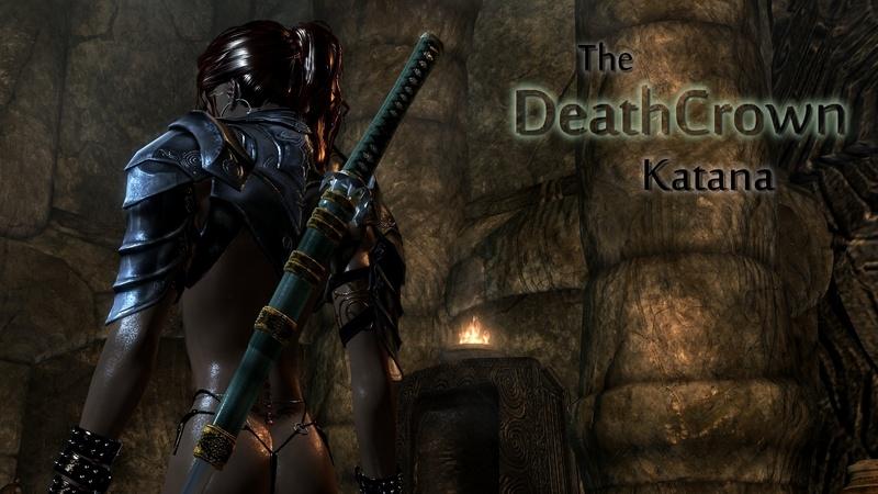Катана 'Корона Смерти' (SE) / HN66s DeathCrown Katana Sword