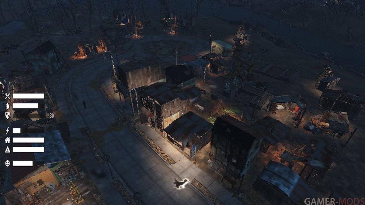 Сим Поселения / Sim Settlements - Геймплей - Fallout 4