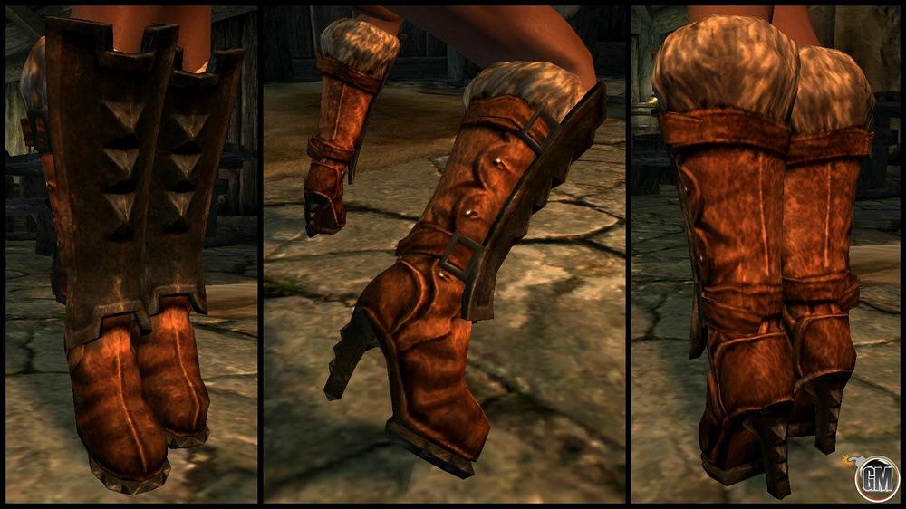 Kendo 2's High Heeled Boots for 7B NiO High Heels Armor