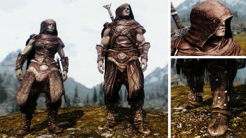 Скачать мод immersive armors skyrim