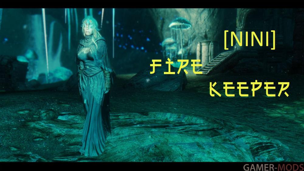 NINI] Fire Keeper / DS3  Наряд Огненной Хранительницы