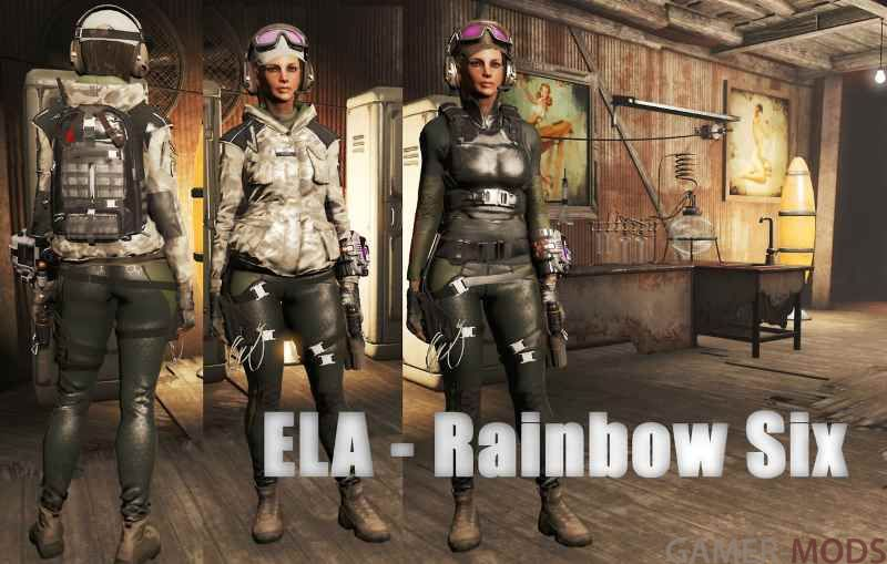 Экипировка Элы / Ela Outfit - Rainbow Six