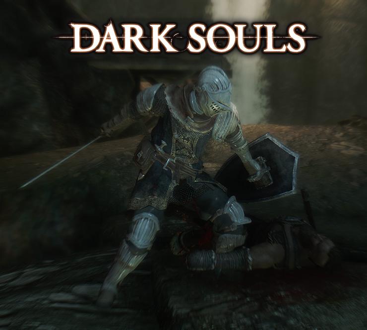 Dark Souls Armor Sets And Weapons Compilation - Оружие - Skyrim SE