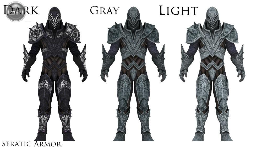 Сератикская броня / Seratic Armor 1.2 для TES V: Skyrim - Скриншот 1