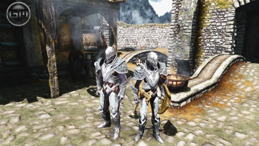 Сератикская броня / Seratic Armor 1.2 для TES V: Skyrim - Скриншот 3