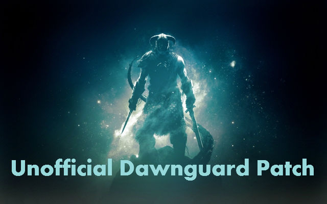 Unofficial Dawnguard Patch - Page 96 - File topics