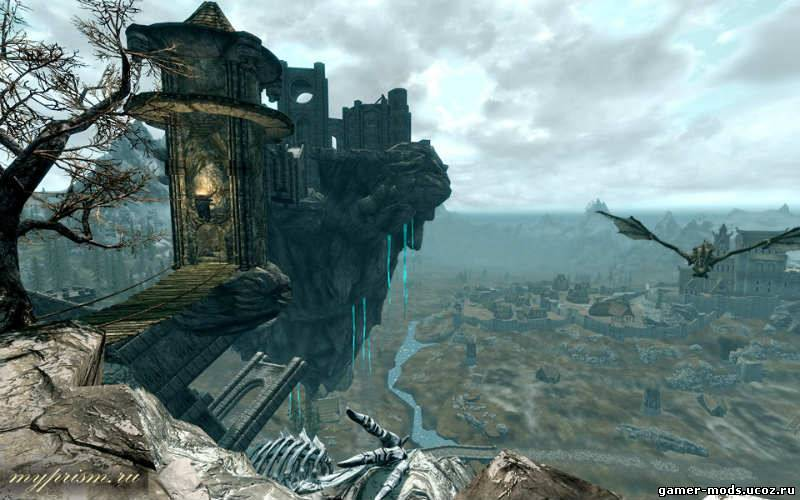 Скайрим Мод Небесный Замок Скачать - фото 5