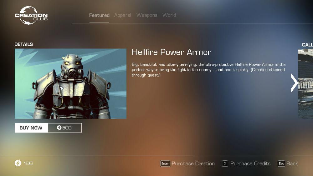 Fallout 4 - Патч 1 10 и Creation Club – Gamer-mods